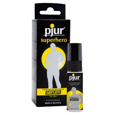 Pjur superhero delay serum