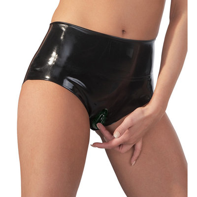 Latex Slip Met Vagina Sleeve